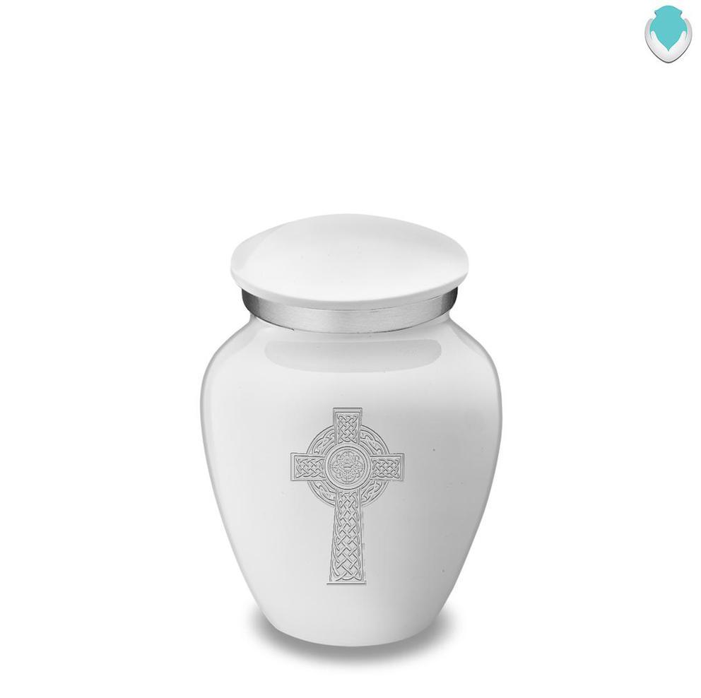 Photo of Keepsake Embrace Celtic Cross Cremation Urn