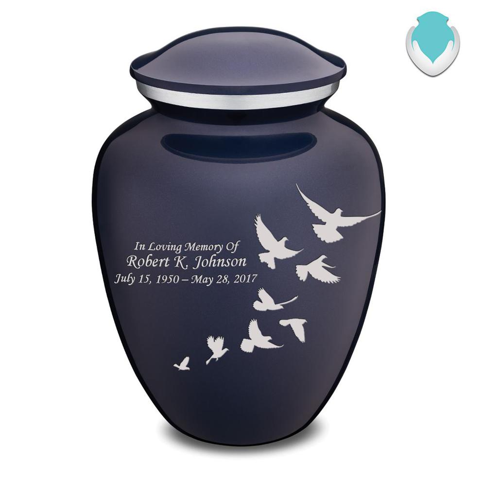 Photo of Adult Embrace Doves Cremation Urn