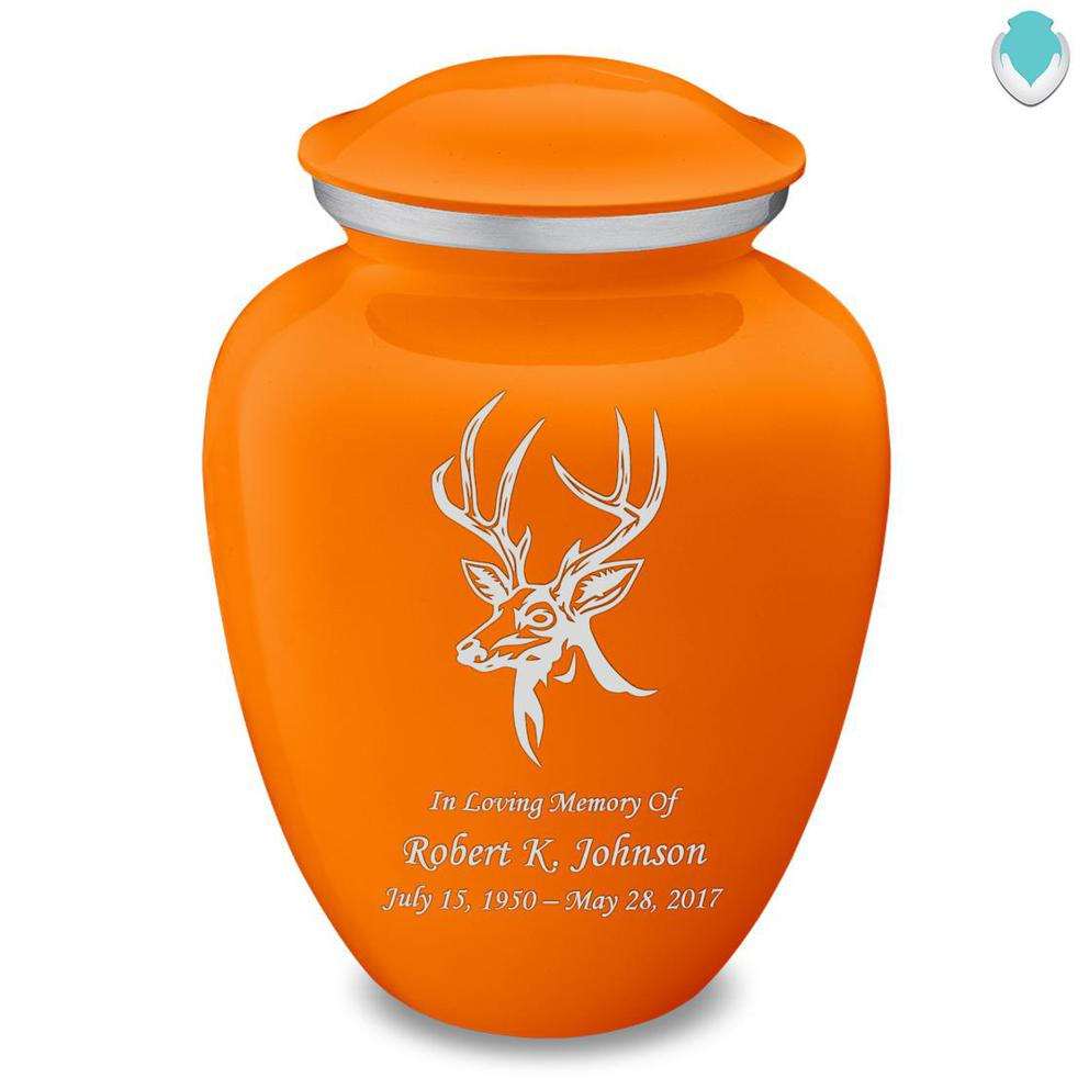 Photo of Adult Embrace Deer Cremation Urn