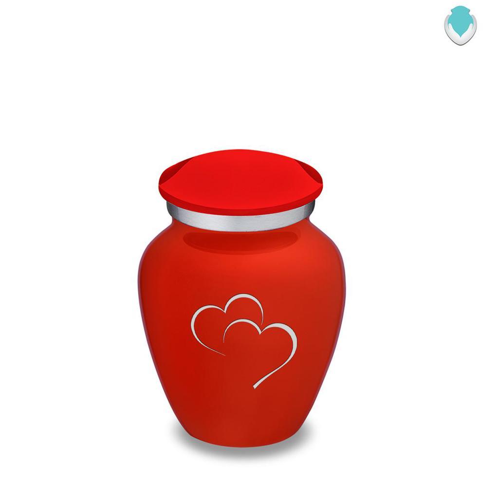 Photo of Keepsake Embrace Hearts Cremation Urn