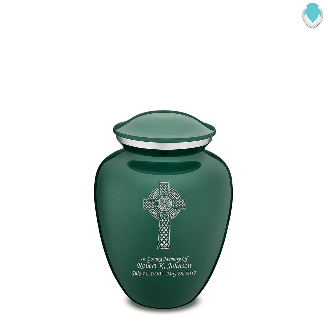 Photo of Medium Embrace Celtic Cross Cremation Urn