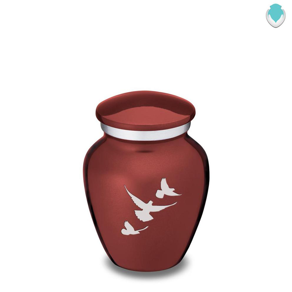 Photo of Keepsake Embrace Doves Cremation Urn