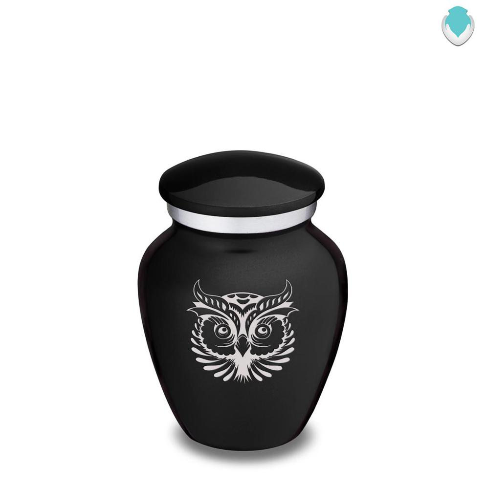 Photo of Keepsake Embrace Owl Cremation Urn