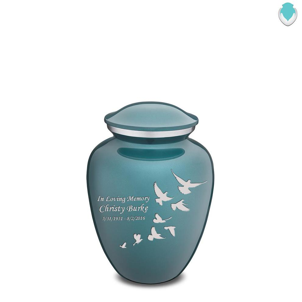 Photo of Medium Embrace Doves Cremation Urn