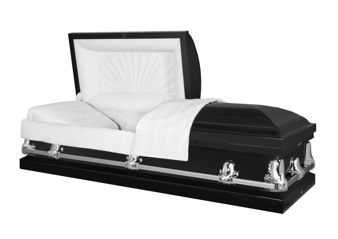 Photo of Titan Orion Series | Black Steel Casket