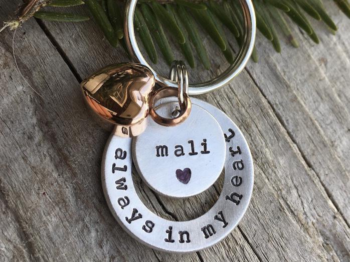Photo of Always In My Heart - Urn Keychain