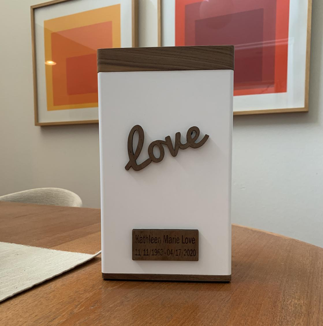 Photo of Scripted LOVE Urn