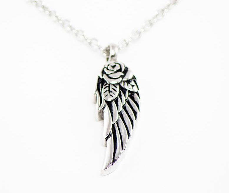 Photo of Angel Wing Cremation Pendant