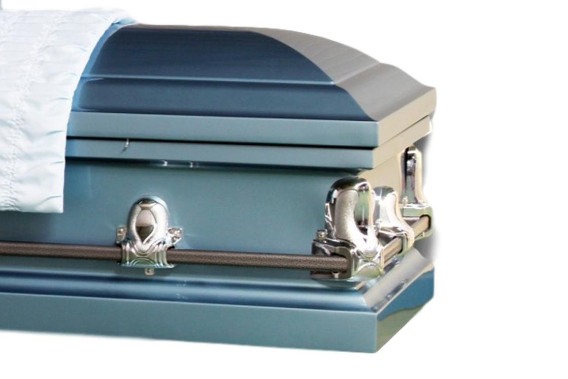 Photo of Stanford Blue Casket