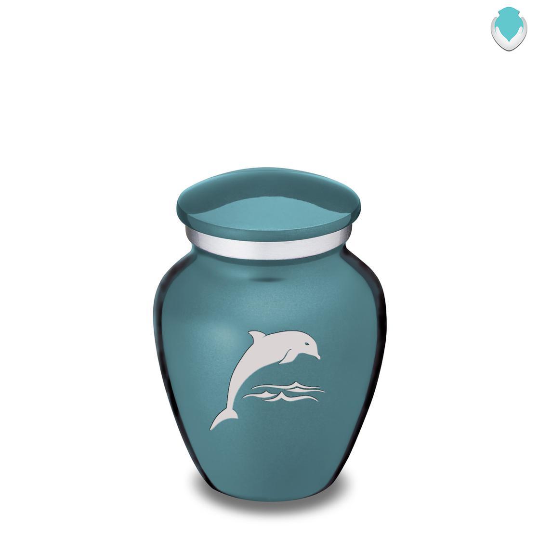 Photo of Keepsake Embrace Dolphins Cremation Urn