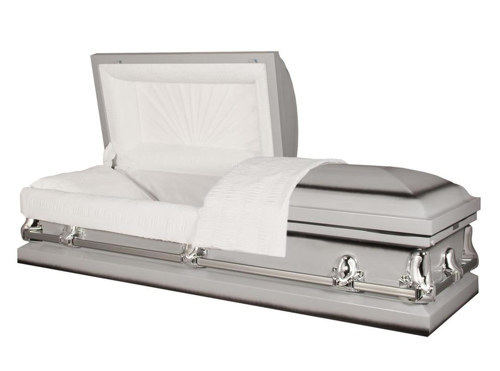 Photo of Titan Orion Series | Silver Steel Casket