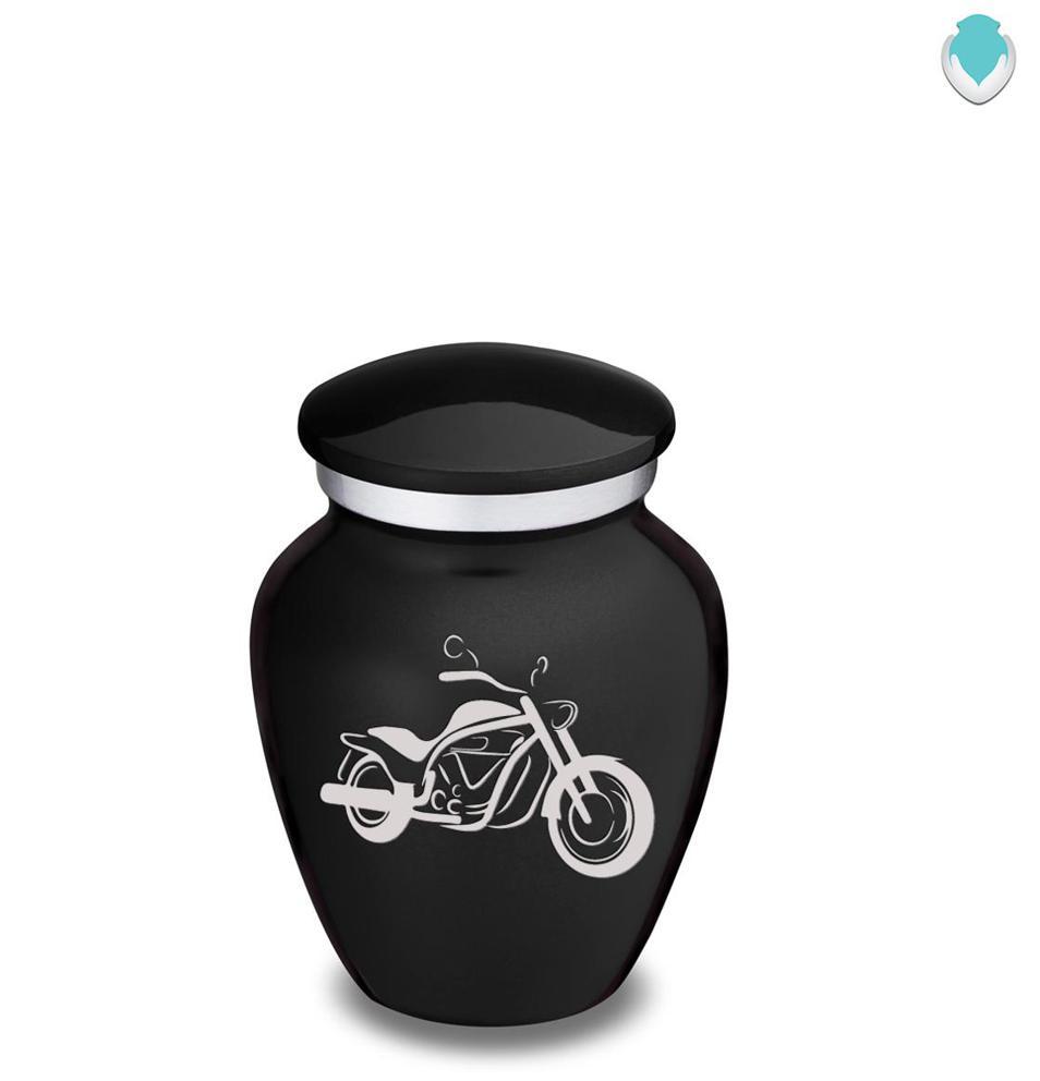 Photo of Keepsake Embrace Motorcycle Cremation Urn