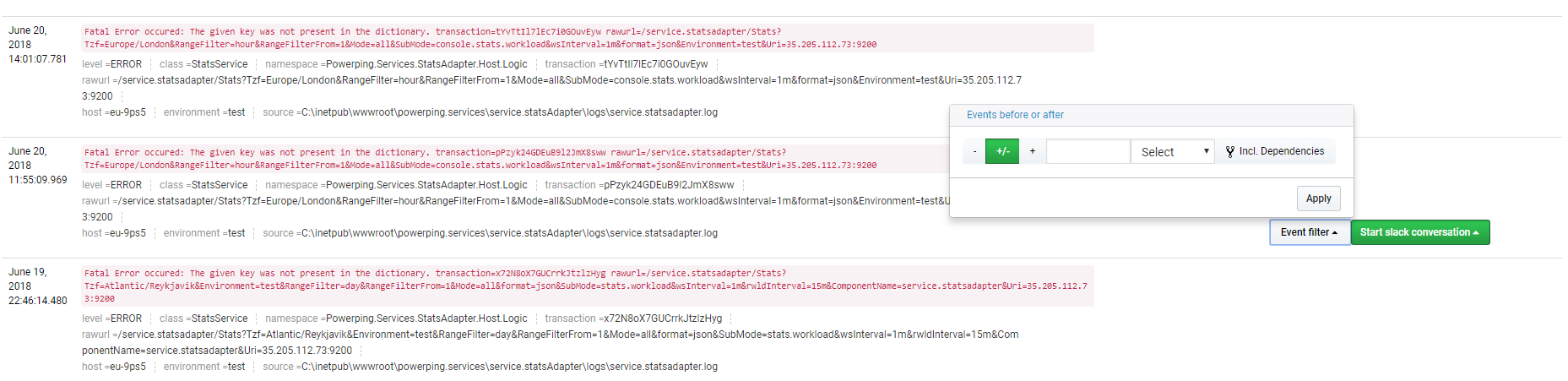 Enabling Log collection for application pools - powerpinghq com