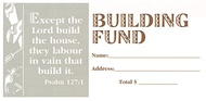 Building Fund Offering Envelopes