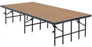 Portable Stages Hardboard Surface - National Public Seating
