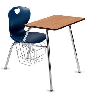 Ovation Combo Chair Desk 18 Scholar Craft Church Partner