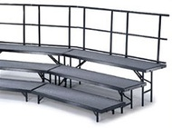 Standing Choral Risers Polypropylene - Midwest Folding