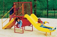 Permanent Outdoor Play Structures