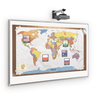 Porcelain Whiteboard - Interactive Projection Board 50 Year Magnetic