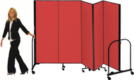 Screenflex FREEstanding Room Dividers with Fabric Surface