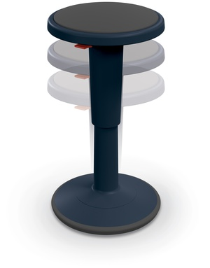 Admirable Hierarchy Height Adjustable Grow Stool Mooreco Blue Pdpeps Interior Chair Design Pdpepsorg