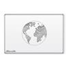 Green-Rite® Porcelain Whiteboard 50 Yr - Presidential Frame