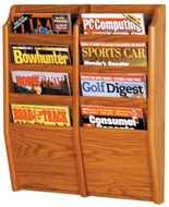 Wall Literature & Periodical Racks