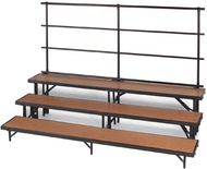 Standing Choral Risers Hardwood - Midwest Folding