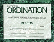 Ordination & License Certificates