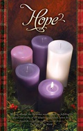 Peace Pillar Candle Advent Series