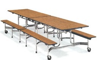 Lunchroom, Cafeteria & Mobile Tables