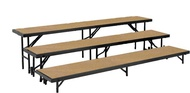 Standing Choral Risers Hardboard - National Public Seating