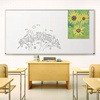 Tuf-Rite® Whiteboard 5 Year ABC Aluminum Frame + Map Rail