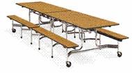Virco Mobile Folding Tables