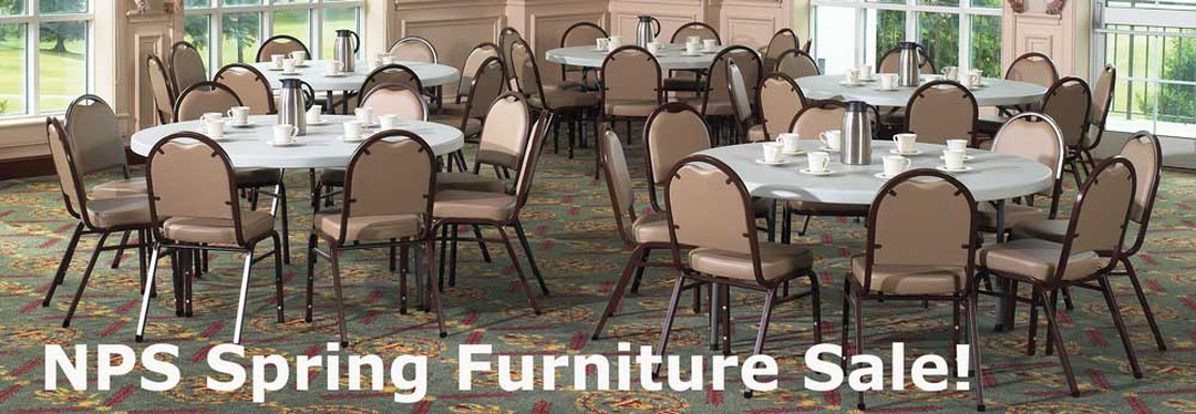 Save on National Public Seating Tables and Chairs!
