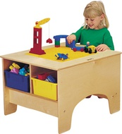 Toddler Block and Activity Tables