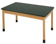 High Pressure Laminate Tables w/ Solid Apron