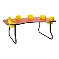 6 Seat Toddler Table 27 H Tt627