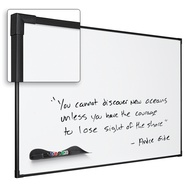 Porcelain Whiteboard 50-Yr Ultra Trim Alum Frame Magnetic