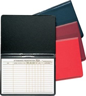 Attendance Registration Pads and Holders