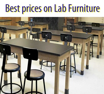 Save on NPS Science Lab Tables & Stools