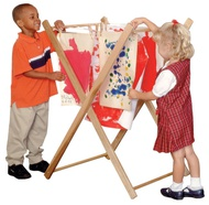 Art Supplies: Smocks, Drying Racks & Splash Mats