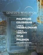 Philippians to Philemon