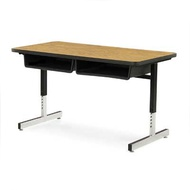 Two Student Desks