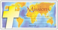 Mission Offering Envelopes