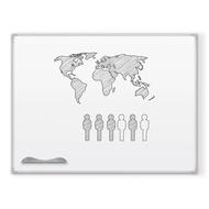 Porcelain Whiteboard 50 Yr Ultra Trim Alum Frame Magnetic