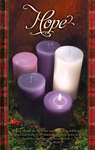 Peace Pillar Candle Advent Letter-Size Series