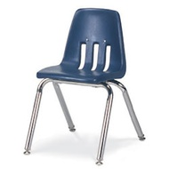 Classroom Chairs Soft Plastic Seat