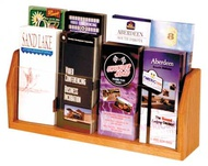 Counter Top Brochure and Magazine Racks