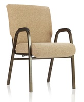 ComforTek Stacking Church Chairs With Arms